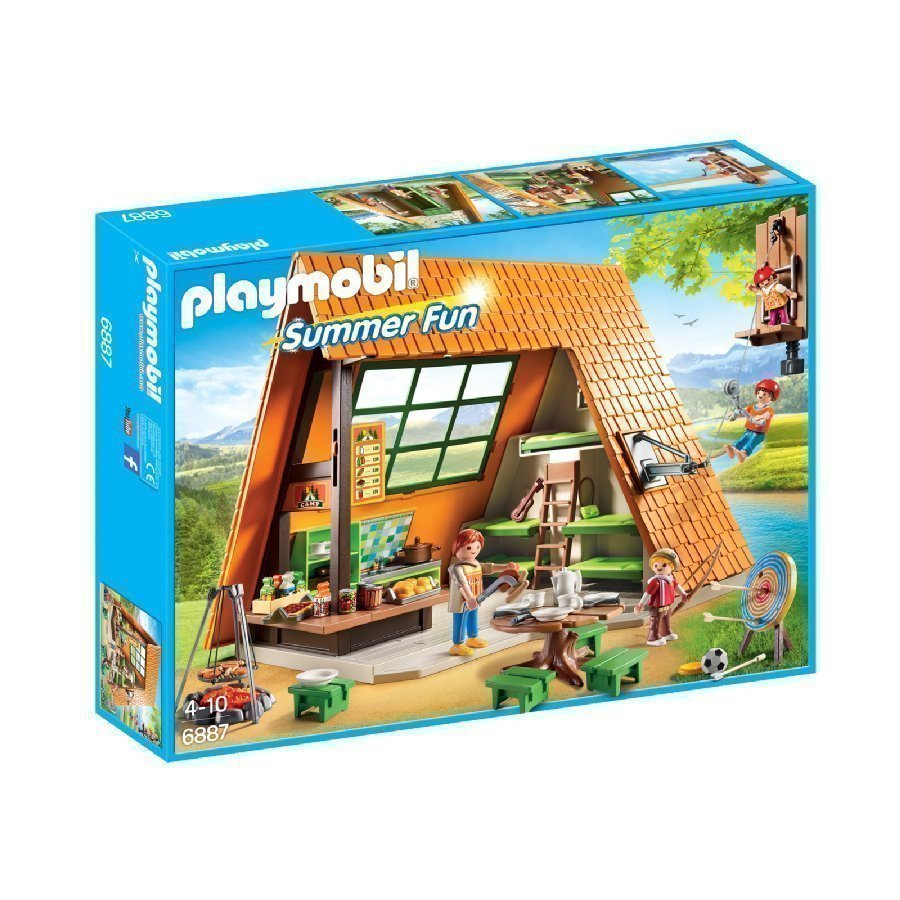 Playmobil Family Fun Loma Leirintäalueella 6887
