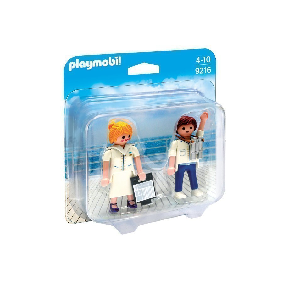 Playmobil Family Fun Pursinainen Ja Pursimies 9216