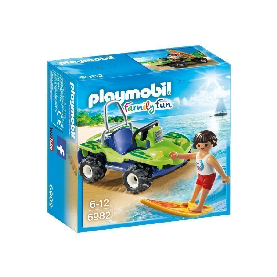 Playmobil Family Fun Surffari Ja Rantamönkijä 6982