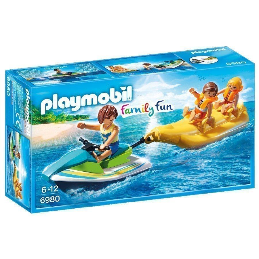 Playmobil Family Fun Vesiskootteri Ja Banaanivene 6980