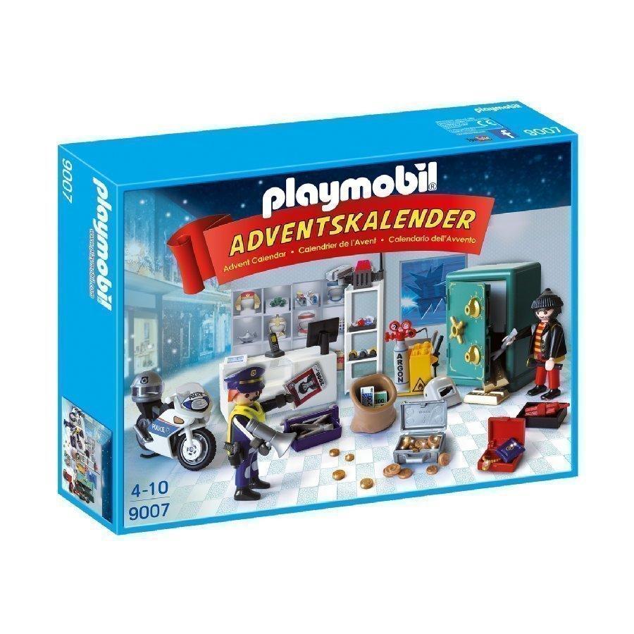Playmobil Joulukalenteri Poliisi Ja Rosvo 9007