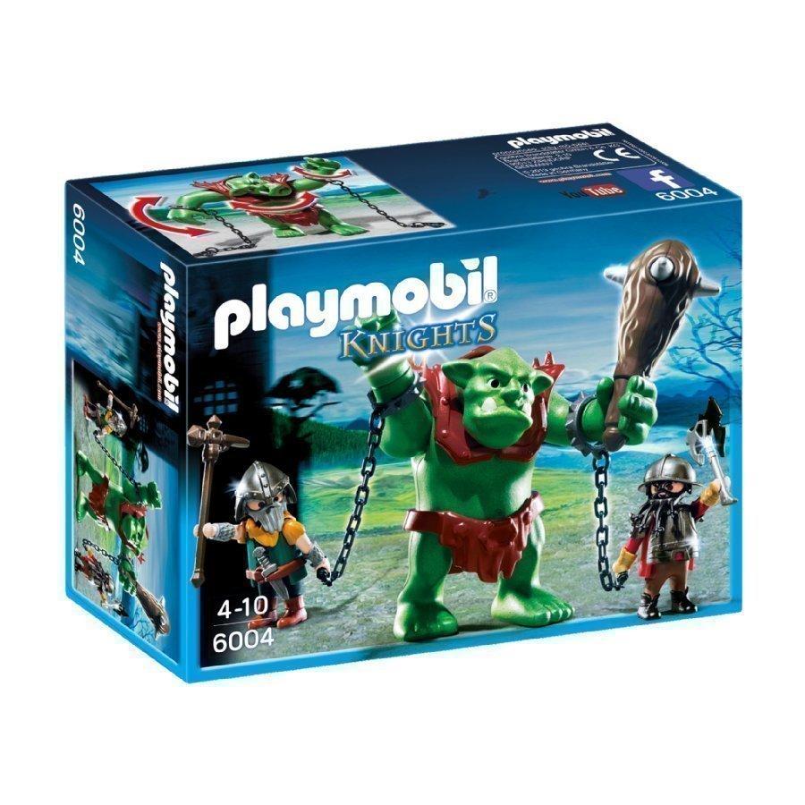 Playmobil Knights Iso Peikko Ja Kääpiötaistelijat 6004