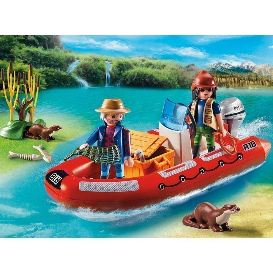 Playmobil Kumivene Ja Tutkimusmatkailijat 5559