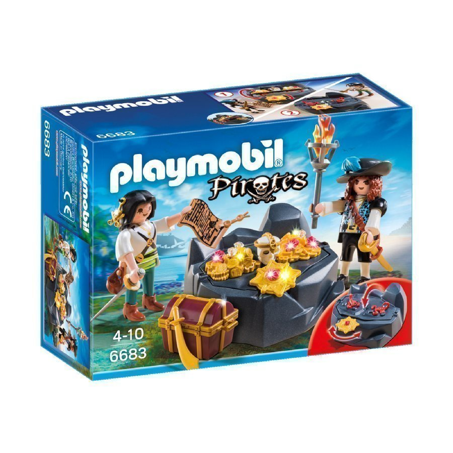 Playmobil Pirates Aarrekätkö 6683