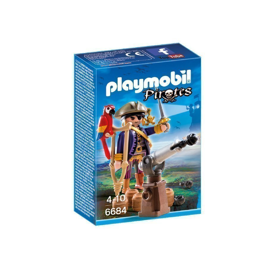 Playmobil Pirates Merirosvokapteeni 6684