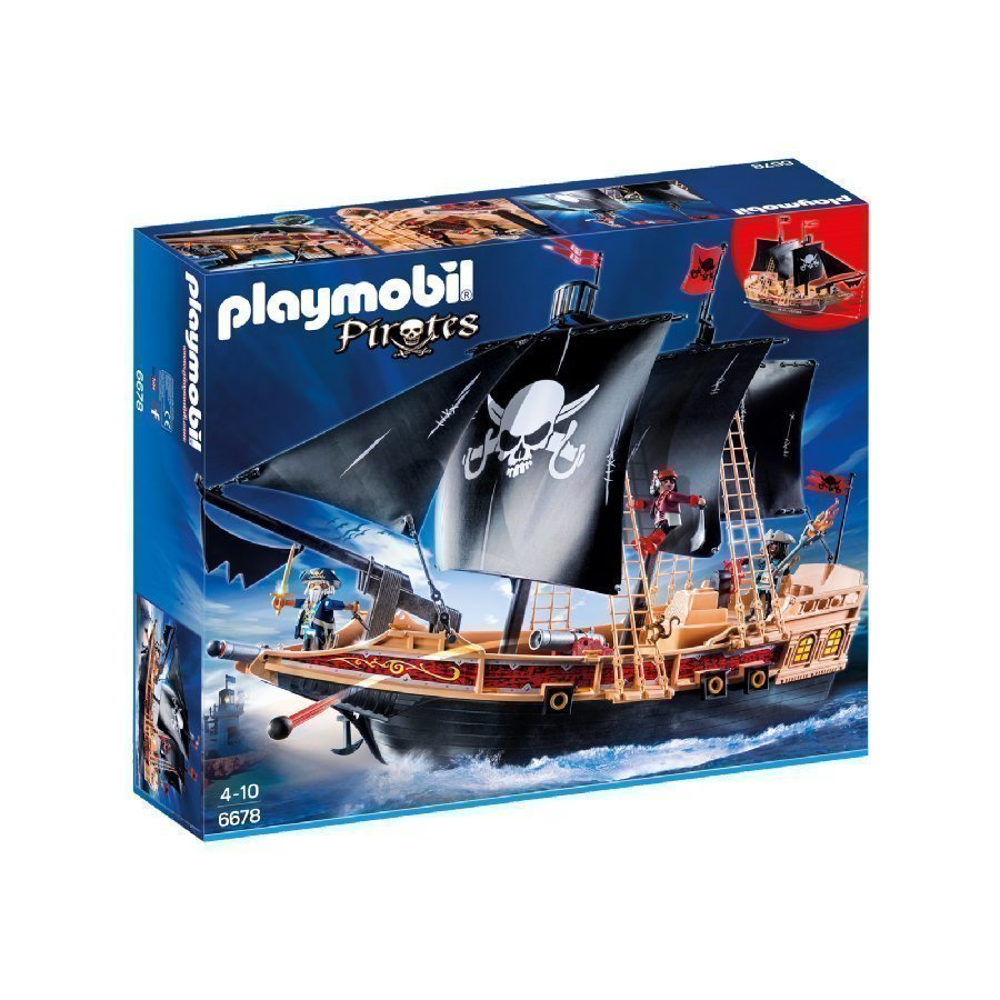 Playmobil Pirates Merirosvolaiva 6678
