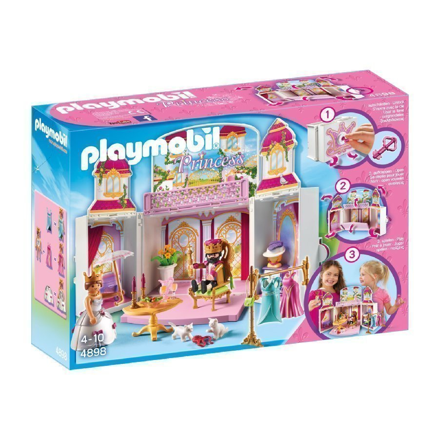Playmobil Princess Kannettava Linna 4898