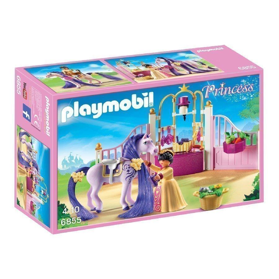 Playmobil Princess Kuninkaallinen Hevostalli 6855