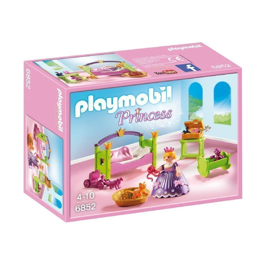 Playmobil Princess Prinsessojen Lastenhuone 6852