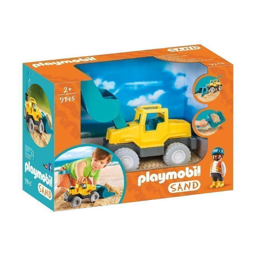 Playmobil Sand Traktori 9145