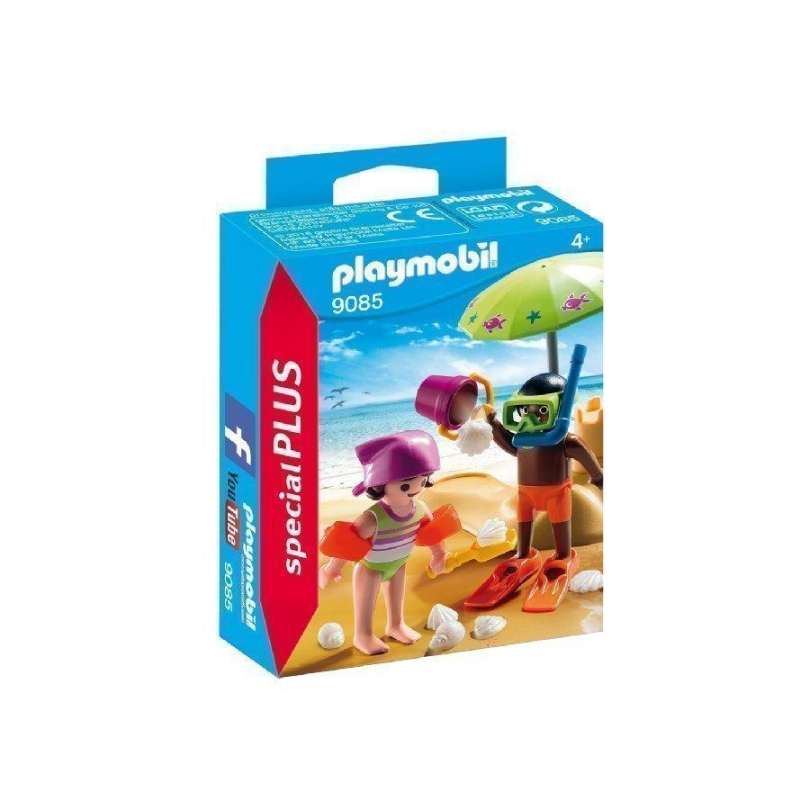 Playmobil Specialplus Hiekkalinna Ja Lapset