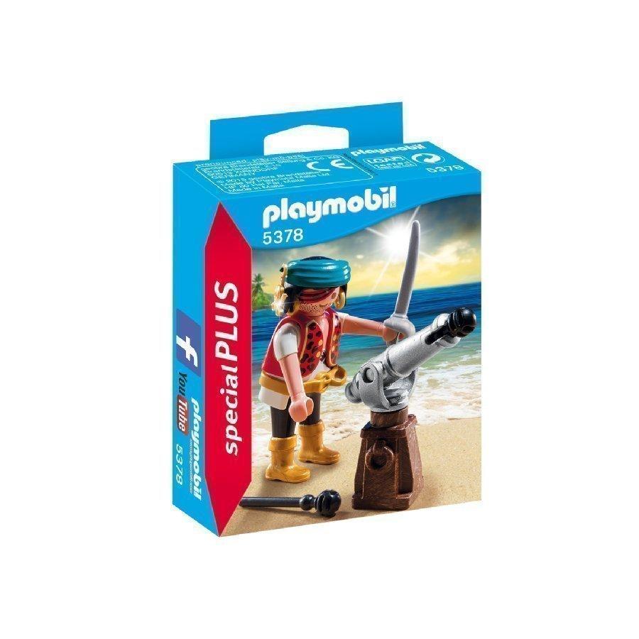 Playmobil Specialplus Merirosvo Ja Kanuuna 5378