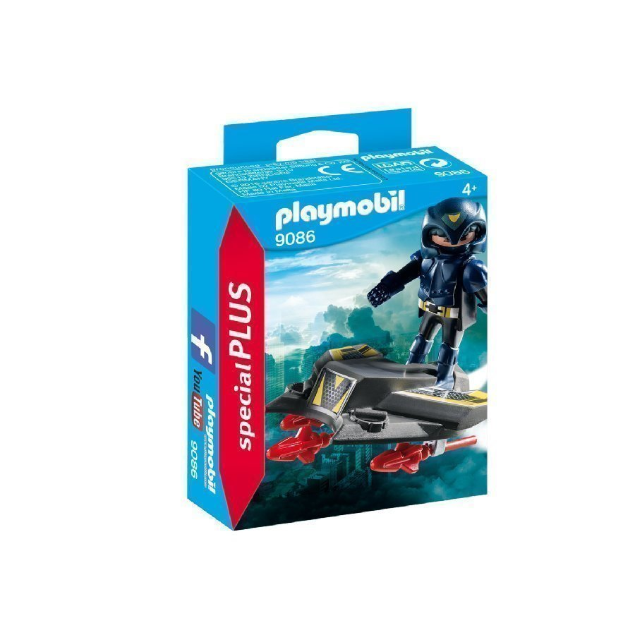 Playmobil Specialplus Ritari Ja Lennokki 9086