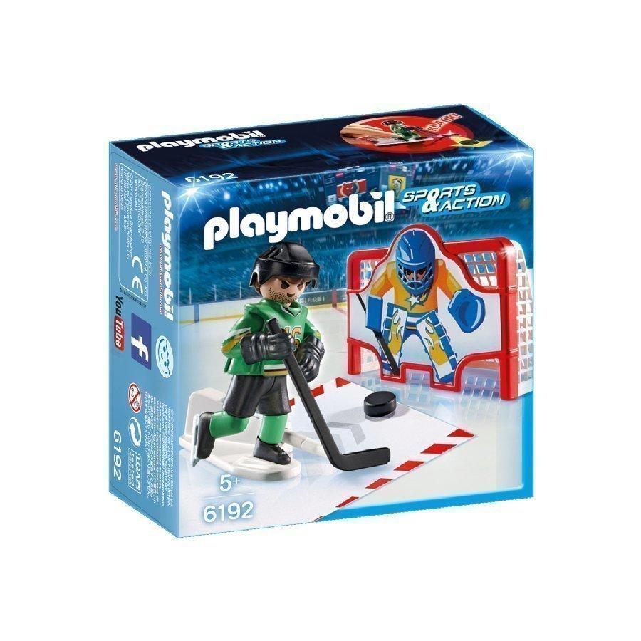 Playmobil Sports & Action Jääkiekkoharjoitukset 6192