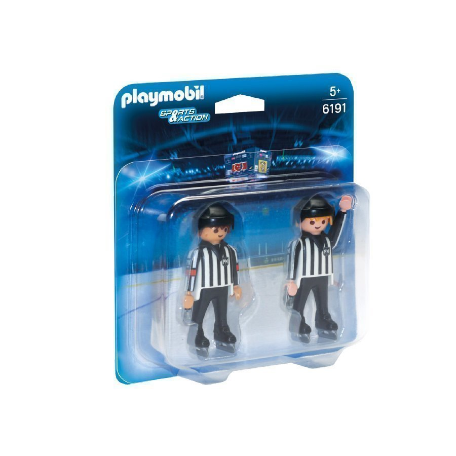 Playmobil Sports & Action Jääkiekkotuomarit 6191