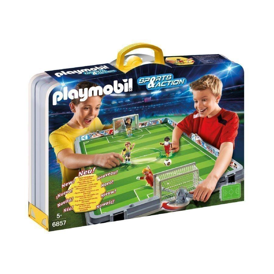 Playmobil Sports & Action Kannettava Jalkapallokenttä 6857