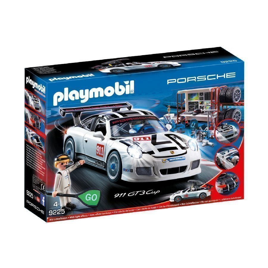 Playmobil Sports & Action Porsche 911 Gt3 Cup 9225