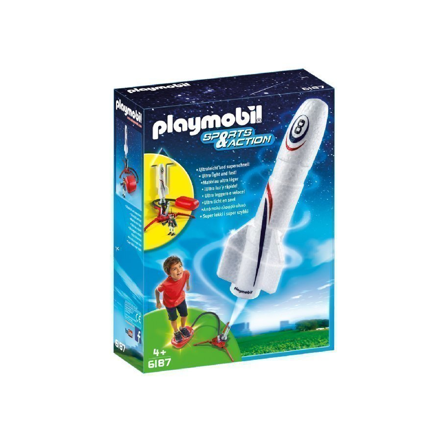 Playmobil Sports & Action Raketti Hyppyalustalla 6187