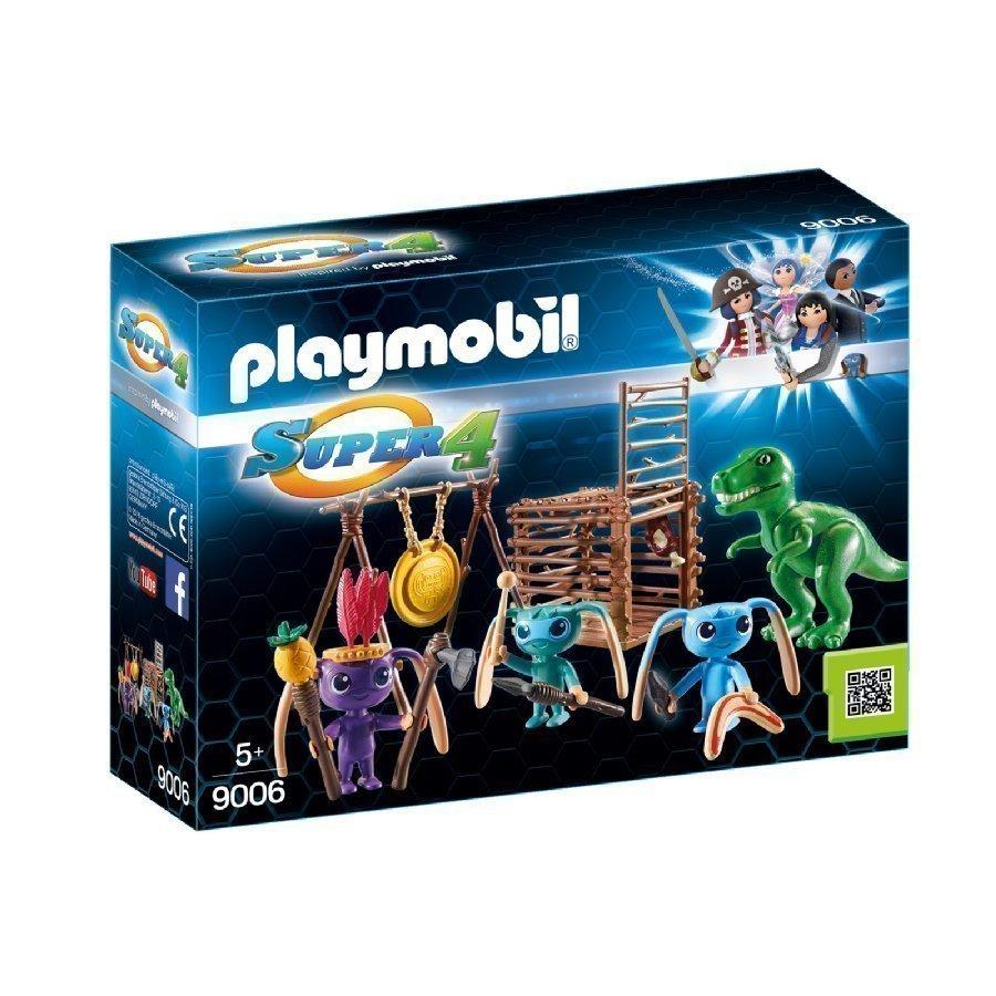 Playmobil Super 4 Alienit Ja T Rex 9006
