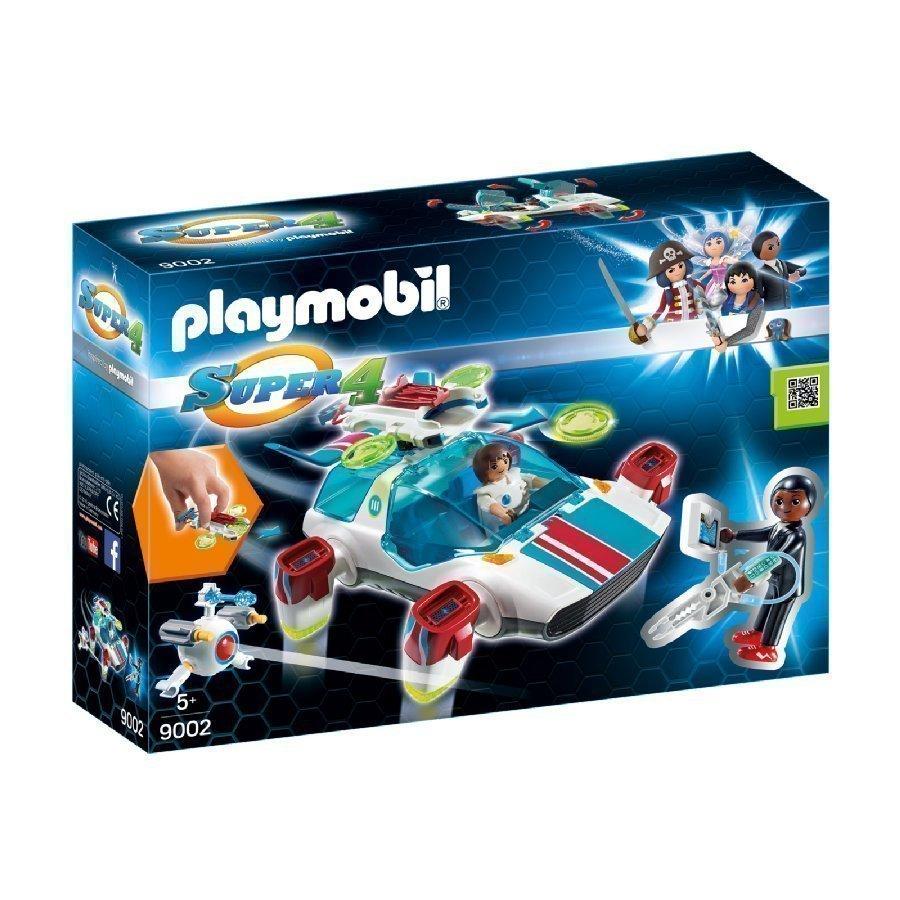 Playmobil Super 4 Fulgurix Ja Agentti Gene 9002