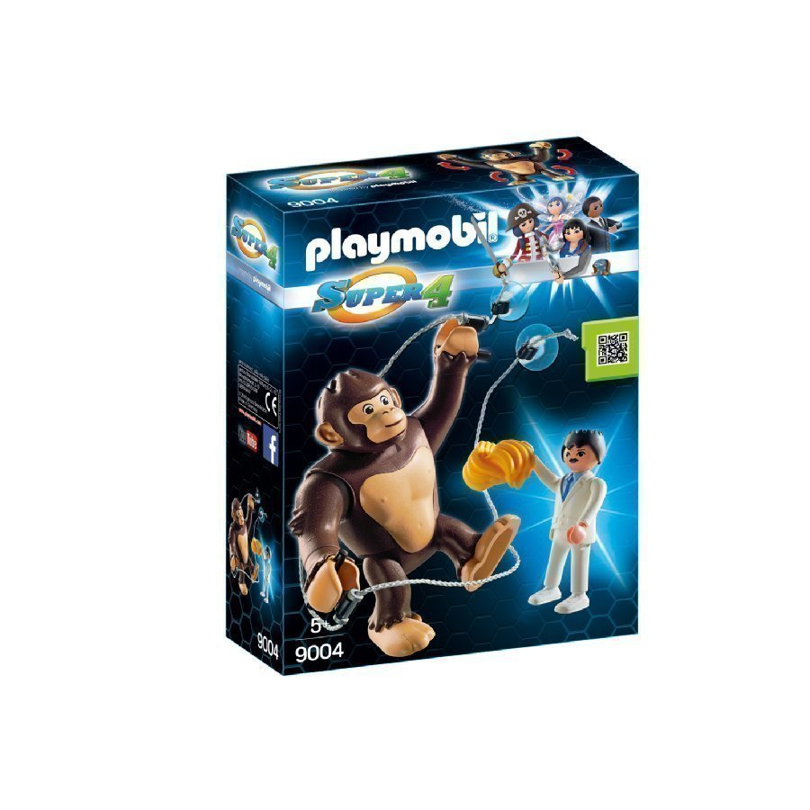 Playmobil Super 4 Gonk Apina 9004