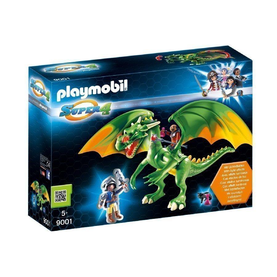 Playmobil Super 4 Lohikäärme Ja Alex 9001