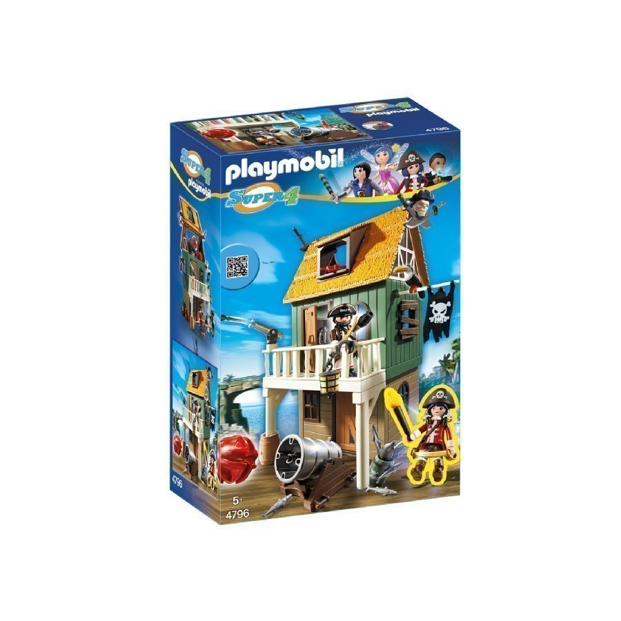 Playmobil Super 4 Merirosvojen Talo 4796