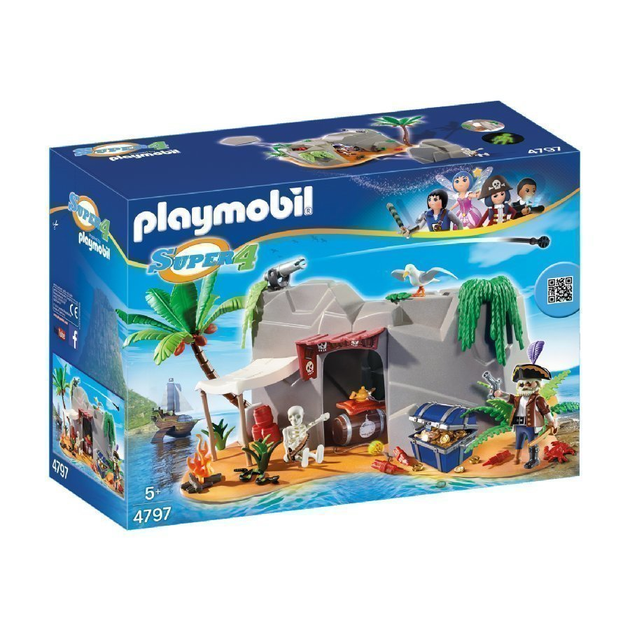 Playmobil Super 4 Merirosvoluola 4797