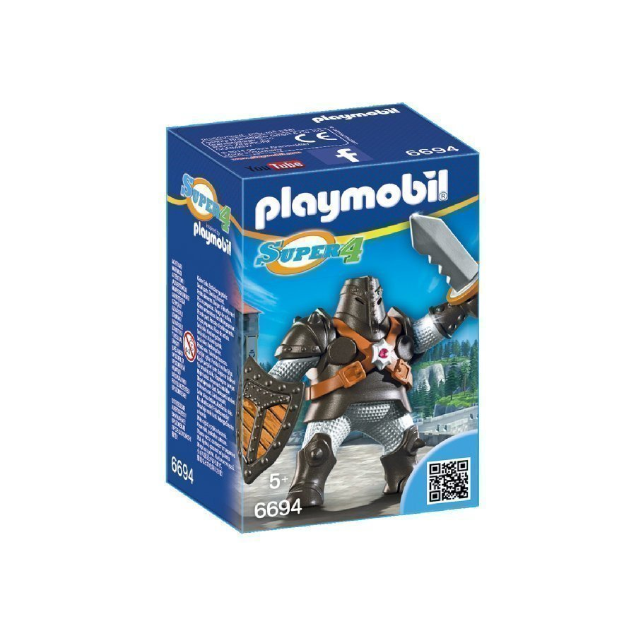 Playmobil Super 4 Musta Colossus 6694