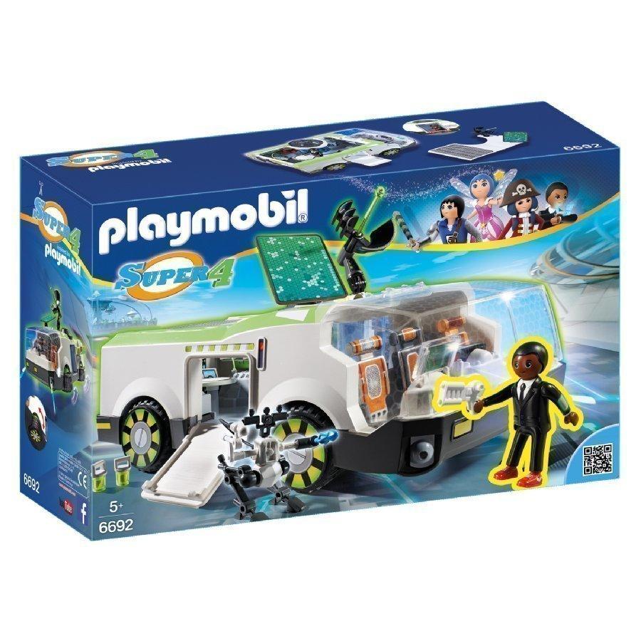 Playmobil Super 4 Techno Chameleon Ja Agentti Gene 6692