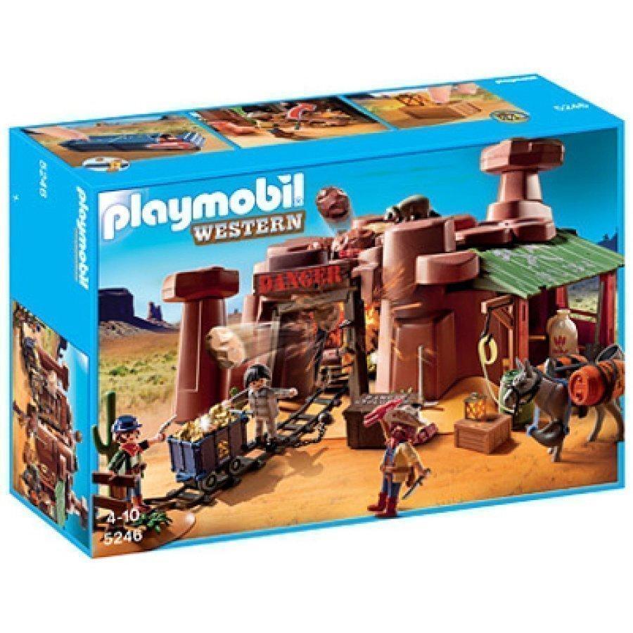Playmobil Villin Lännen Kultakaivos 5246