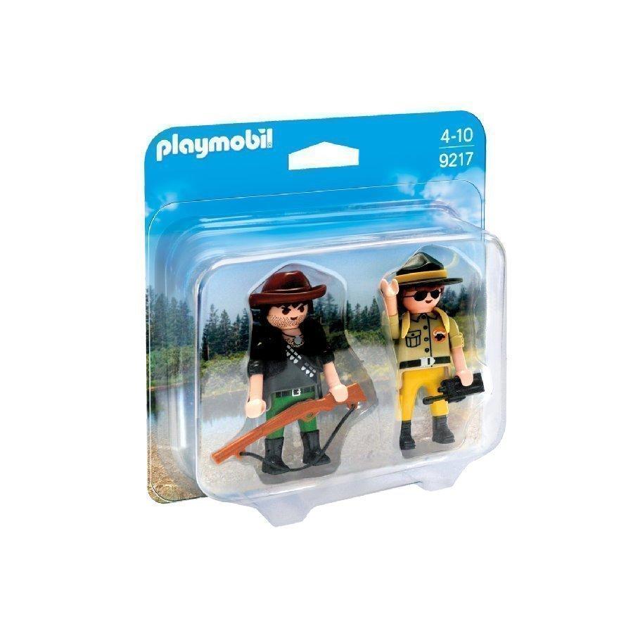 Playmobil Wild Life Puistonvartija Ja Roisto 9217