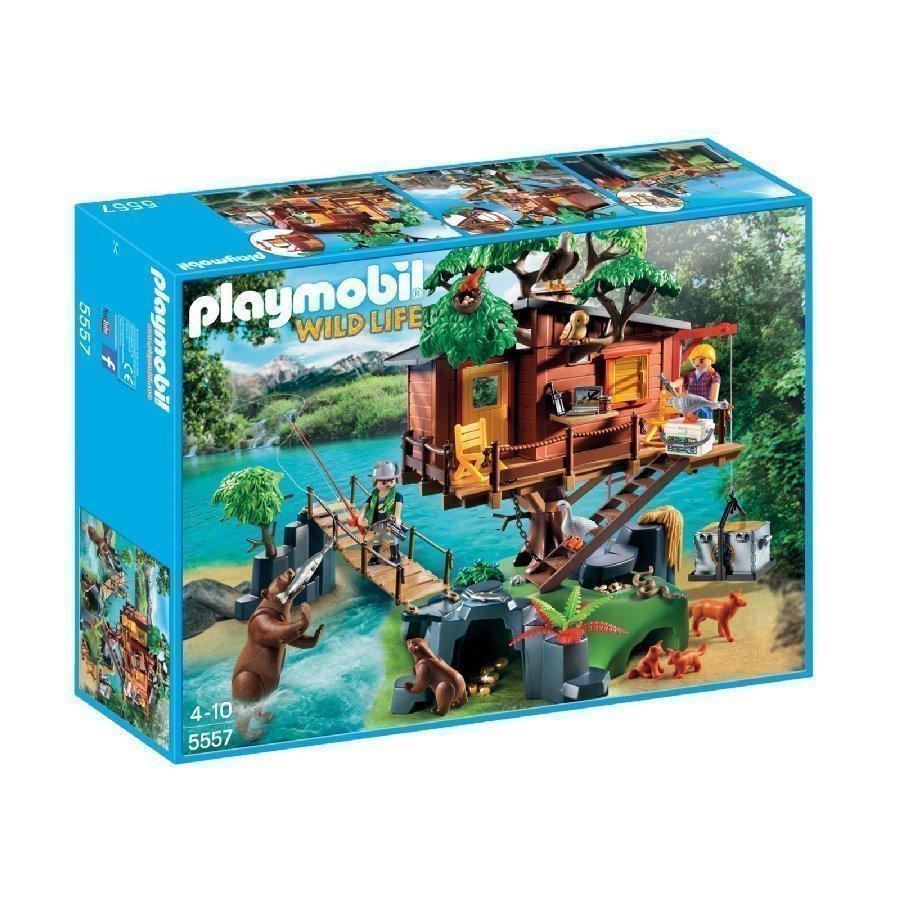 Playmobil Wild Life Seikkailujen Puumaja 5557
