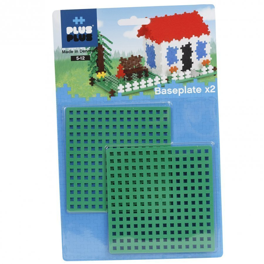 Plus Plus Building Plates 2 Pcs Palapeli