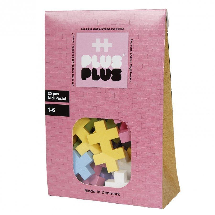 Plus Plus Midi Pastel 20 Pcs Palapeli