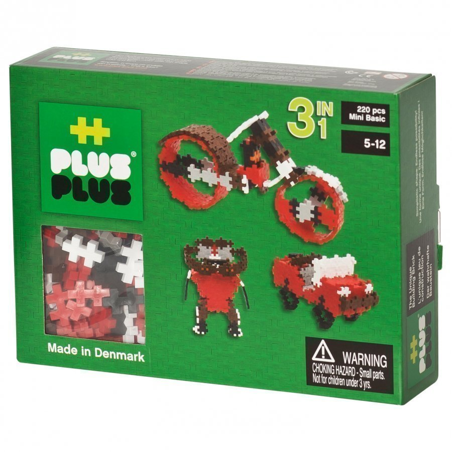 Plus Plus Mini Basic 3in1 220 Pcs Palapeli