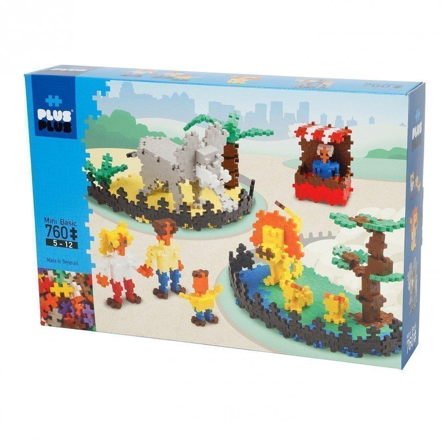 Plus Plus Mini Basic 760 Zoo Palapeli