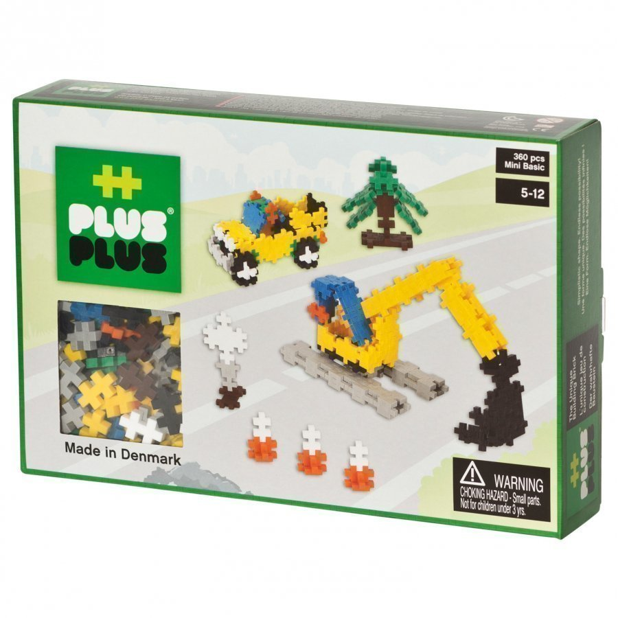 Plus Plus Mini Basic Construction 360 Pcs Palapeli