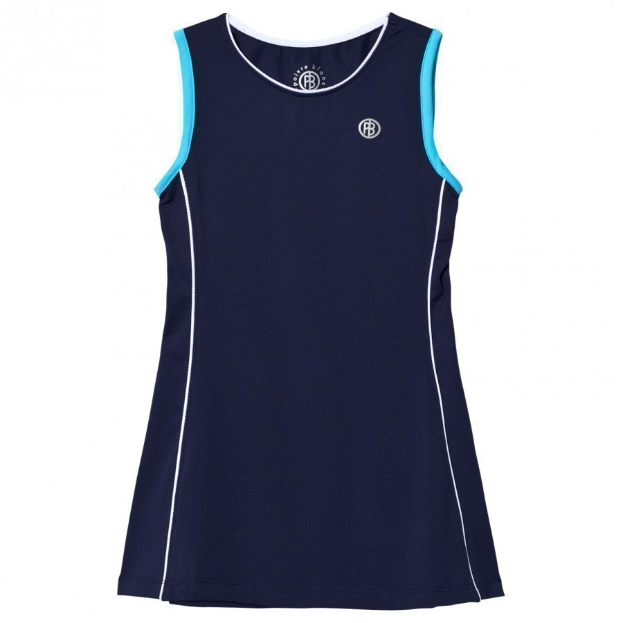 Poivre Blanc Navy Classic Tennis Dress Tennismekko
