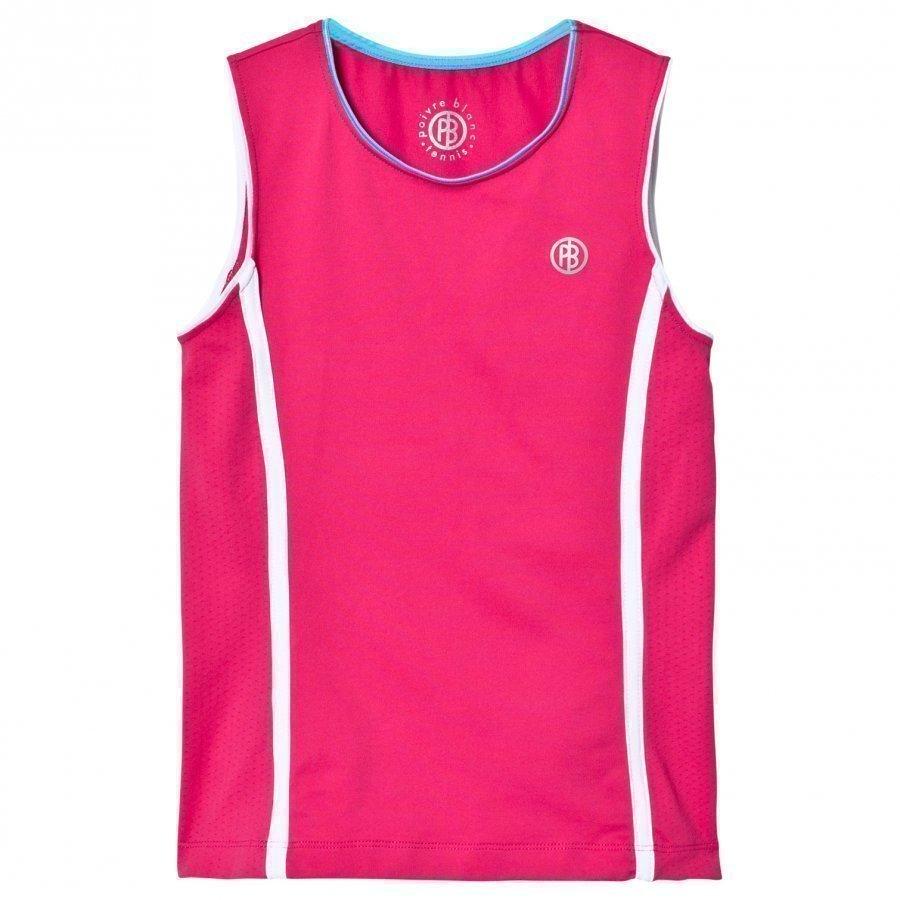 Poivre Blanc Pink Classic Tennis Tank Liivi