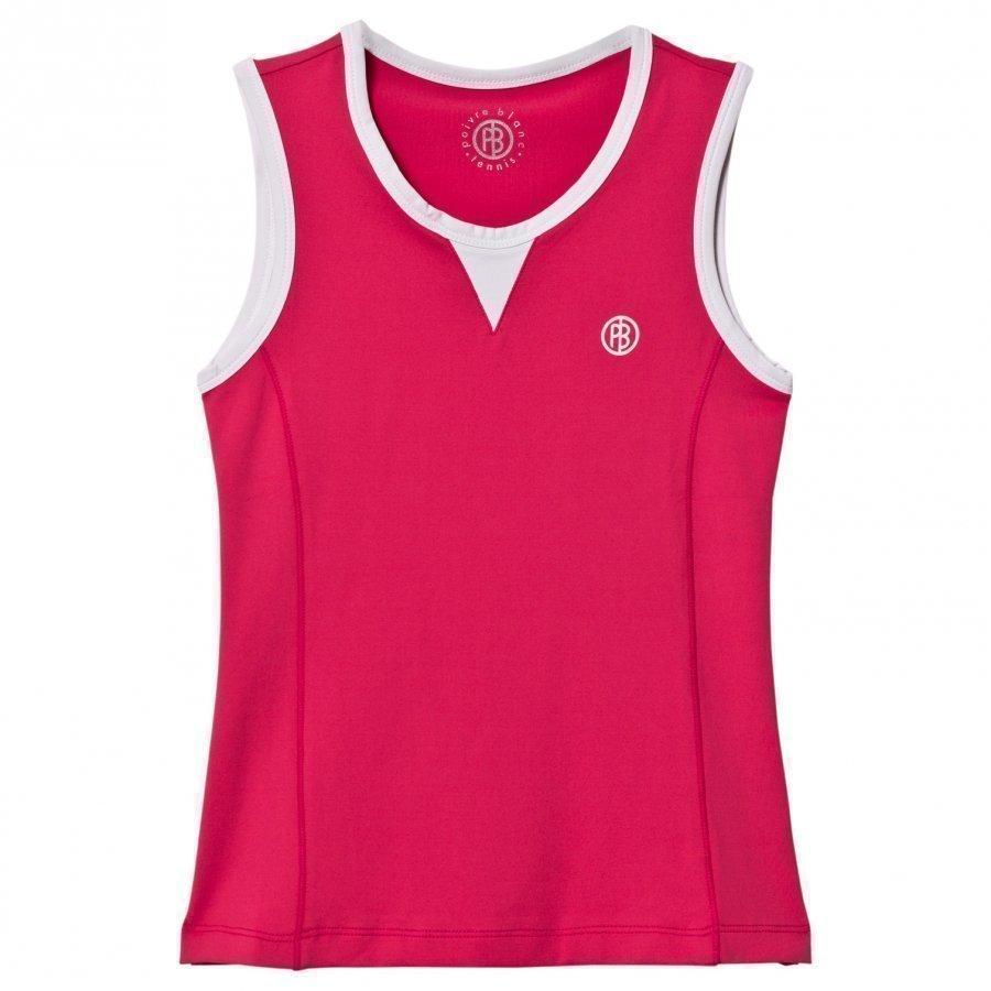 Poivre Blanc Pink Tennis Tank Liivi