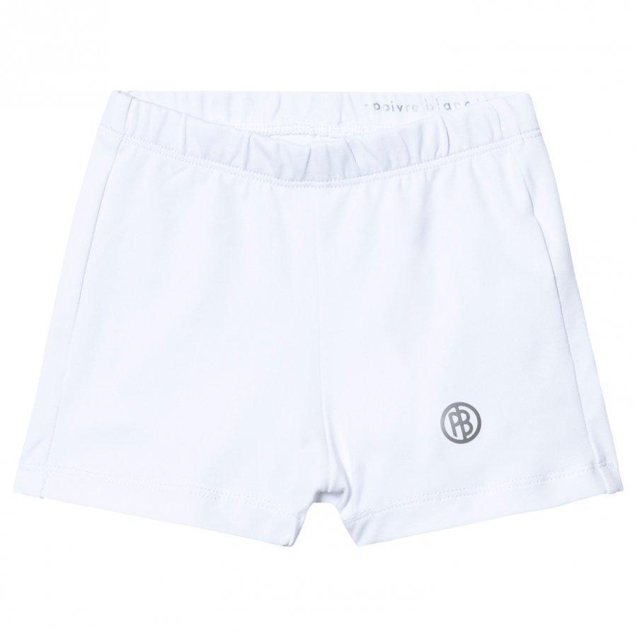 Poivre Blanc White Classic Tennis Shorts Urheilushortsit
