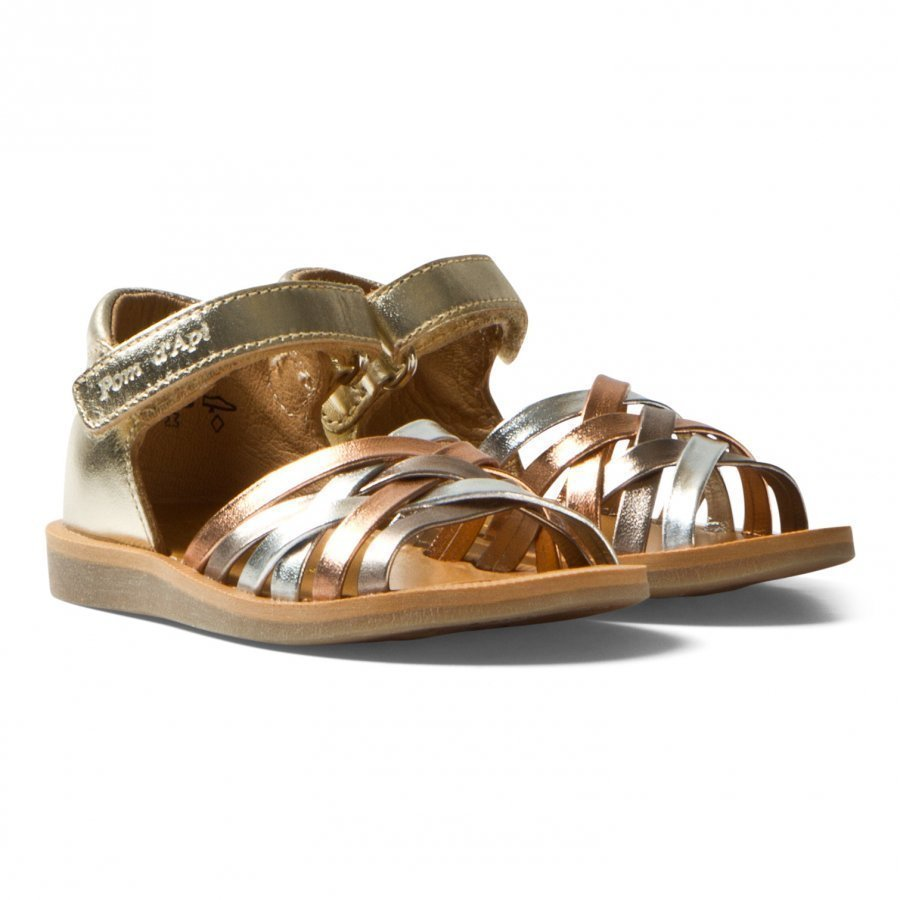 Pom Dapi Multi Pastel Poppy Lux Sandals Remmisandaalit