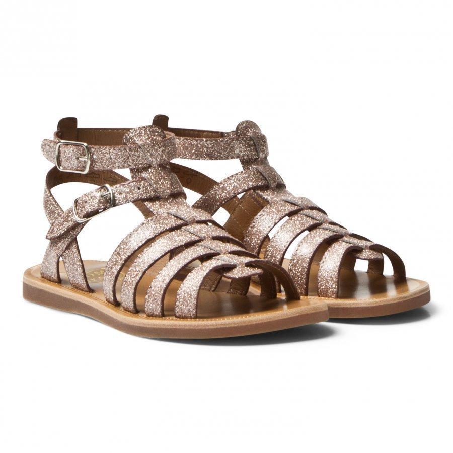 Pom Dapi Plagette Gladiator Sandals Pink Gloss Remmisandaalit