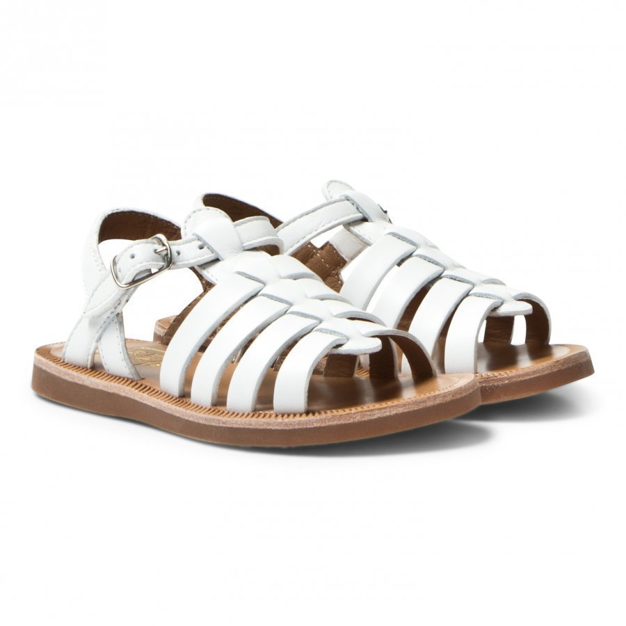 Pom Dapi Plagette Strap Sandals Softy White Remmisandaalit