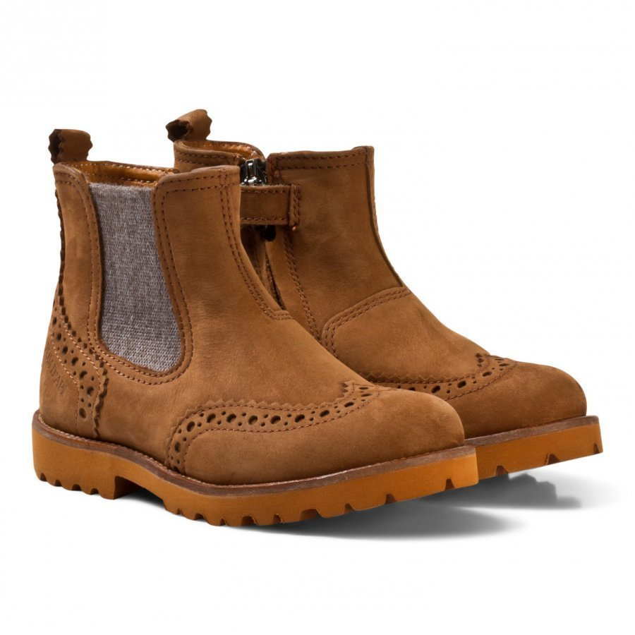 Pom Dapi Raodster Boots Camel Nilkkurit