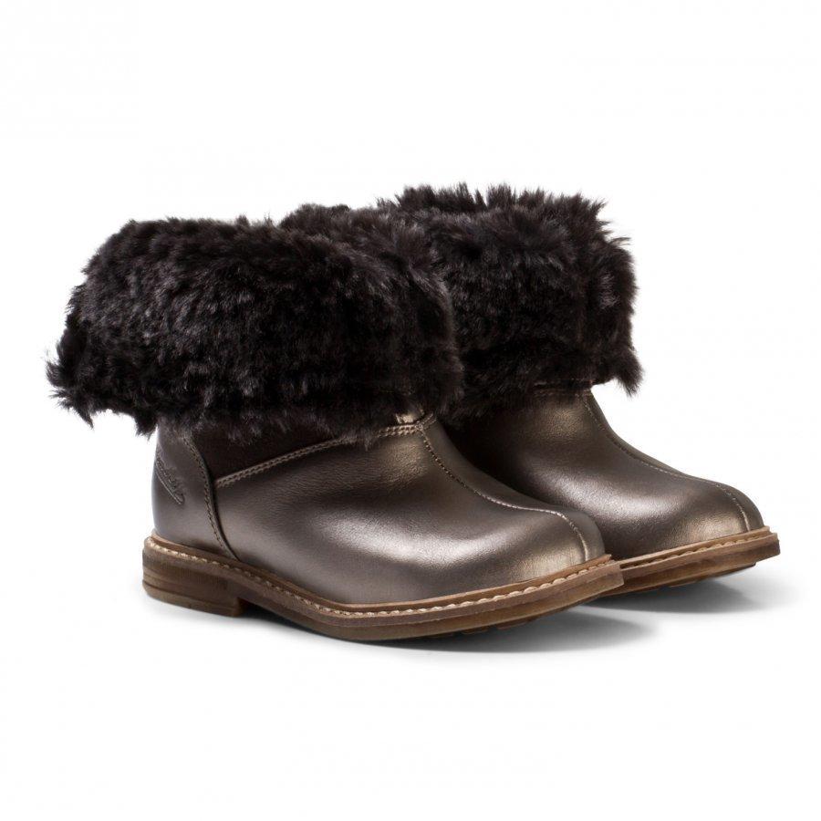 Pom Dapi Retro Chabraque Boots Bronze Nilkkurit