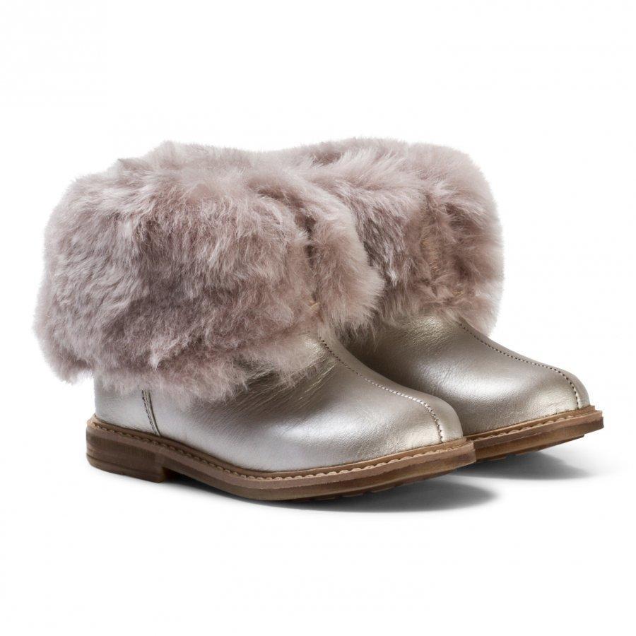 Pom Dapi Retro Chabraque Boots In Iron Nilkkurit