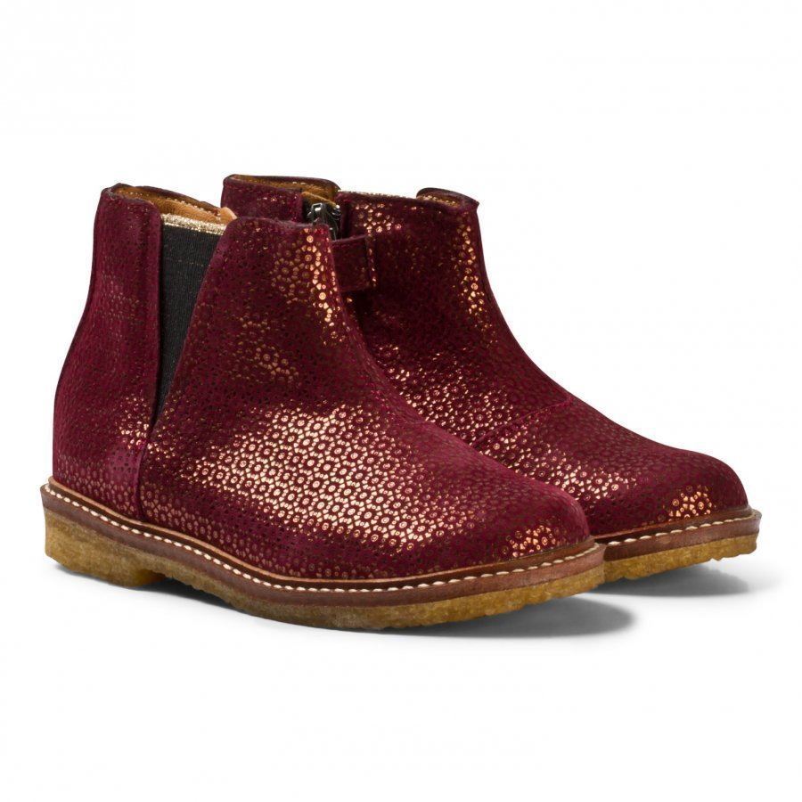 Pom Dapi Suzet Boots Bordeaux Nilkkurit