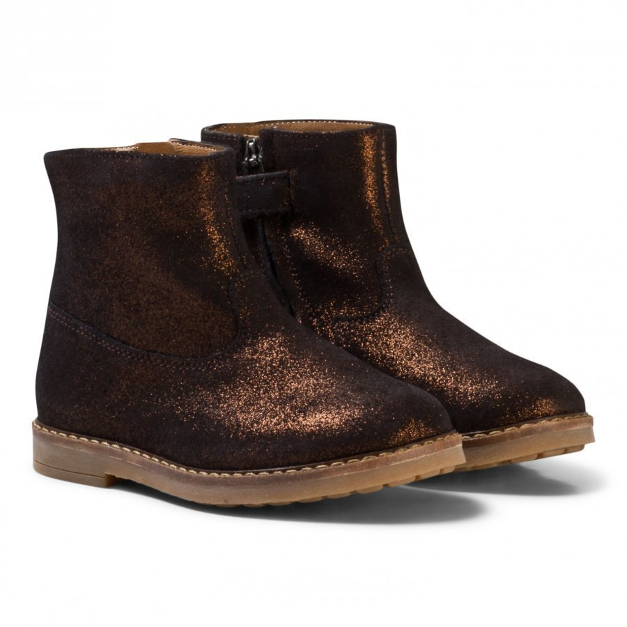 Pom Dapi Trip Boots Bronze Nilkkurit
